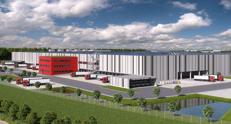 Lekkerland-Logistikzentrum in Kerpen