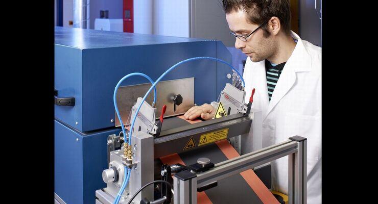 Lithium-Schwefel-Batterie, Elektroden-Beschichtung, Rolle-zu-Rolle-Verfahren