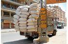 Lkw-Fahren im Libanon,Vollgeladen