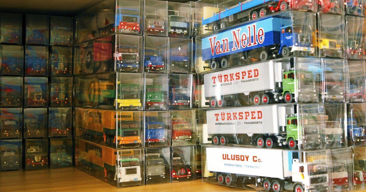kleintuning als hobby lkw modelle in 1 87 sammeln und veredeln eurotransport. Black Bedroom Furniture Sets. Home Design Ideas
