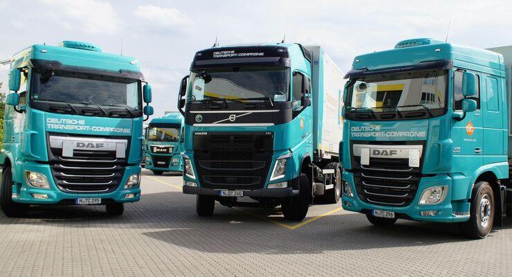 Lkw der Deutsche Transport Compagnie Erich Bogdan