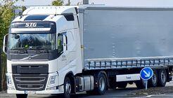 Lkw von STG Transport