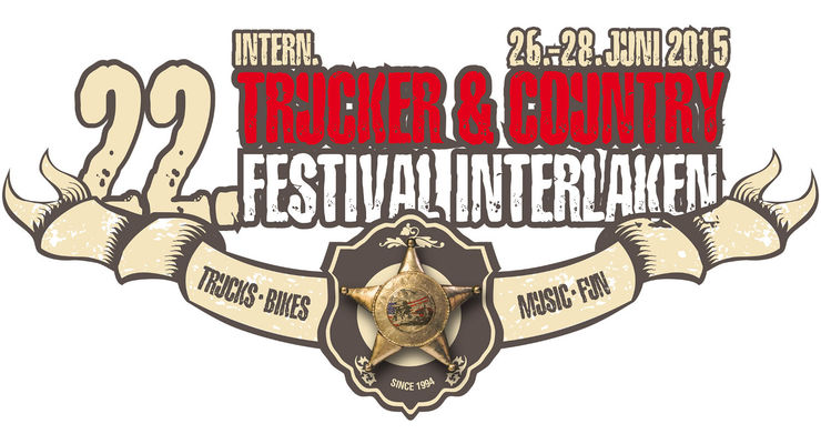Logo des 22. Internationales Trucker & Country Festival Interlaken
