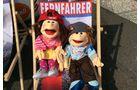 Lohfeldener Rüssel Truck Show, Maskottchen des Verein für Krebskranke Kinder e.V. Kassel. Foto: Sylvia Fischer