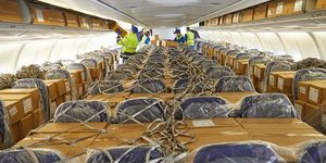 Lufthansa Cargo liefert Atemschutzmasken