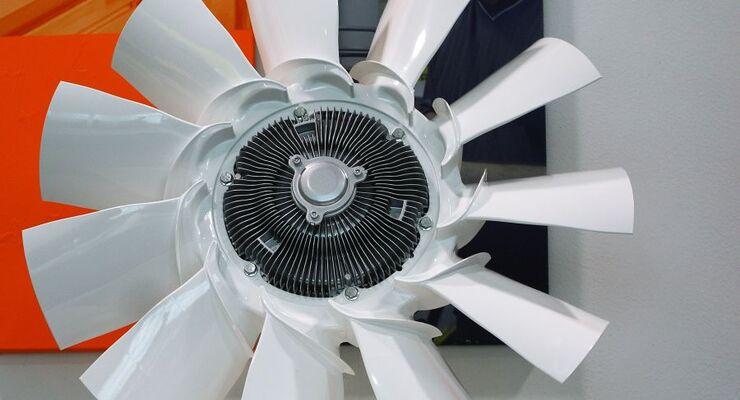 Luftmodul, Motorkühlung