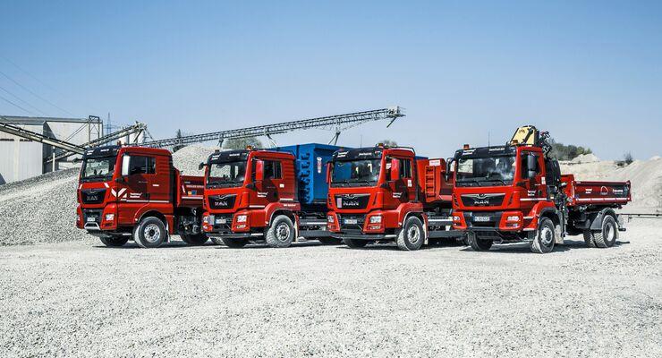 MAN Baufahrzeuge Bauma 2019 Range