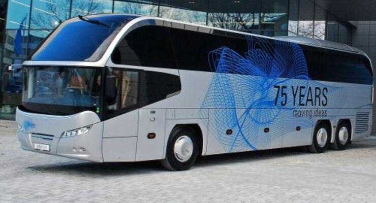 MAN-Busbereich mit weniger Auslieferungen 2009