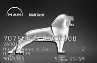 MAN Card Tankkarte 2017