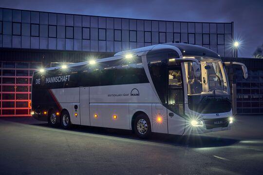 MAN Lion's Coach als DFB-Mannschaftsbus