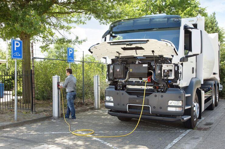 MAN serieller Hybridantrieb und Range Extender