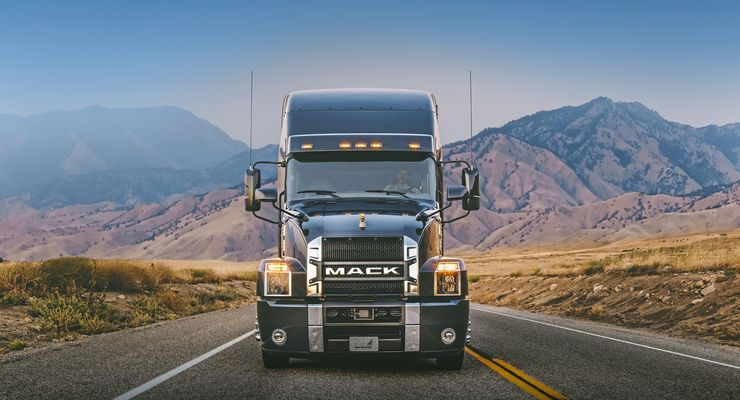 Mack Trucks Anthem 2017