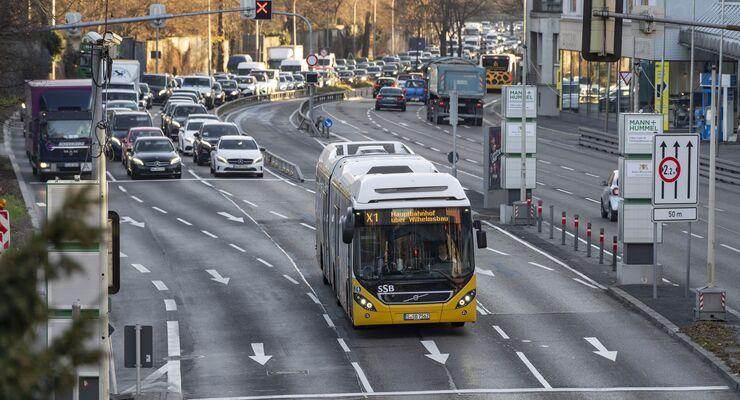 Mann + Hummel Filter Cube III  Feinstaubfresser, Verkehr, Stau, X1-Bus