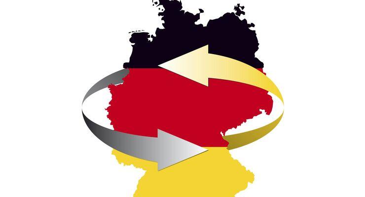 Markt, Konjunktur, Deutschland, Pfeile