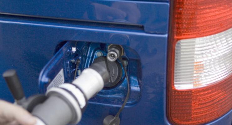 Mehr Erdgasautos auf deutschen Straßen