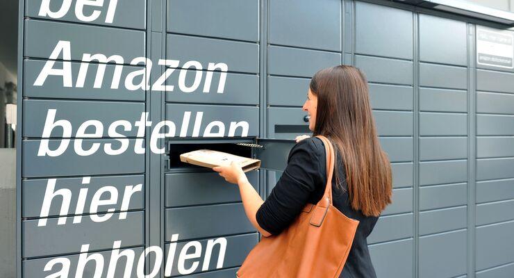 Mehr als 500 Amazon Locker gibt es in Deutschland.