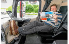 Mercedes Actros 1851 Gigaspace, Solostar, Ruhesessel