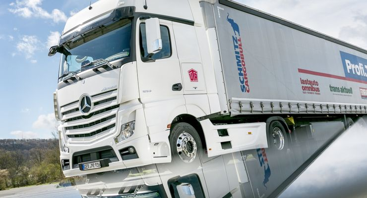 Mercedes Actros 1853 Gigaspace