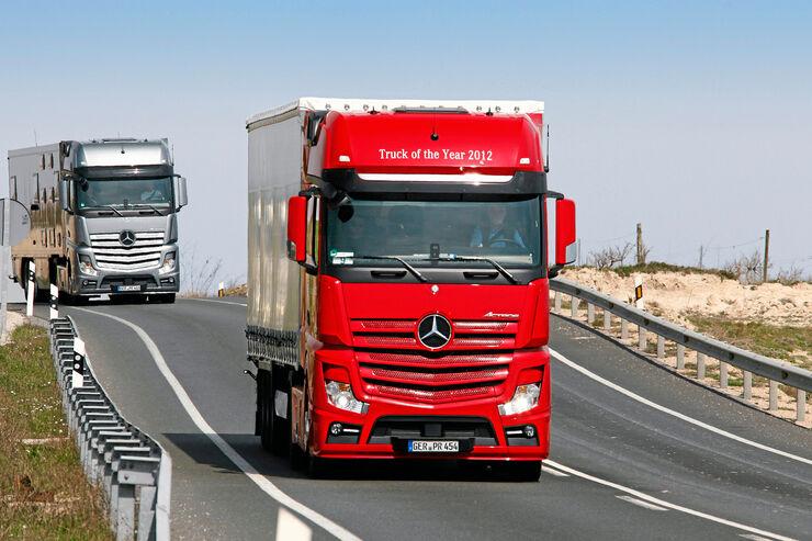 Mercedes Actros, Fahrbericht