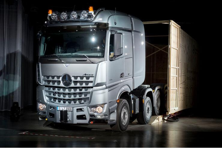 Mercedes Actros SLT