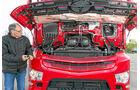 Mercedes Antos 2543, elektrohydraulische Kippvorrichtung