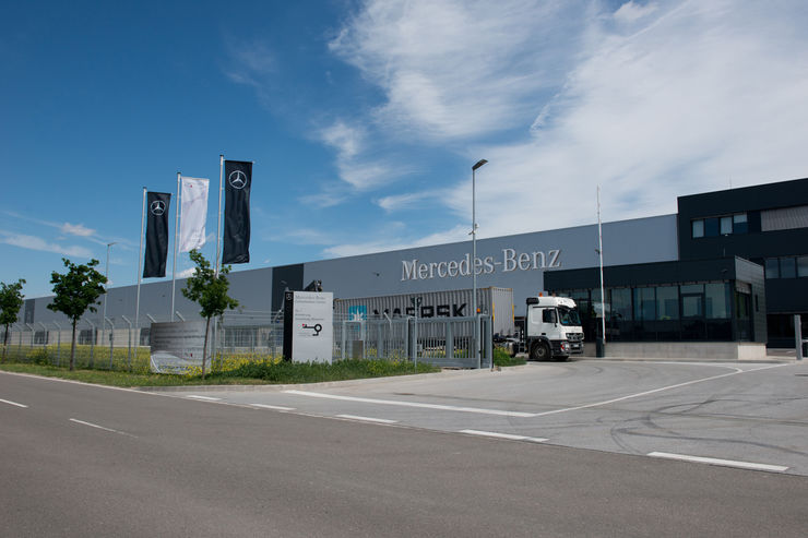 Mercedes-Benz Consolidation Center Speyer