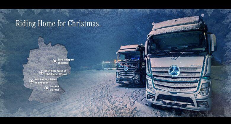 Mercedes-Benz Riding Home for Christmas Tour