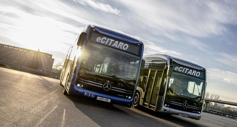 """Mercedes-Benz eCitaro elektrisiert europäische VerkehrsbetriebeMercedes-Benz eCitaro """"electrifies"""" European transport operators"""