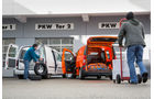 Mercedes Citan, VW Caddy, Heckklappe, PKW, Tor