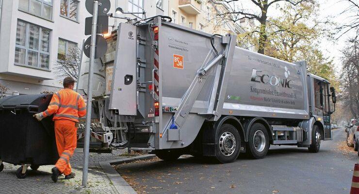 Mercedes Econic, Müllwagen, Berliner Stadtreinigung, ta3/2012