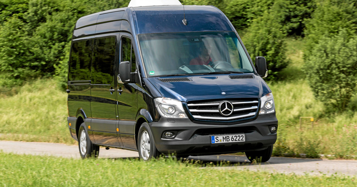 mercedes sprinter kombi 319 bluetec in abrahams scho. Black Bedroom Furniture Sets. Home Design Ideas