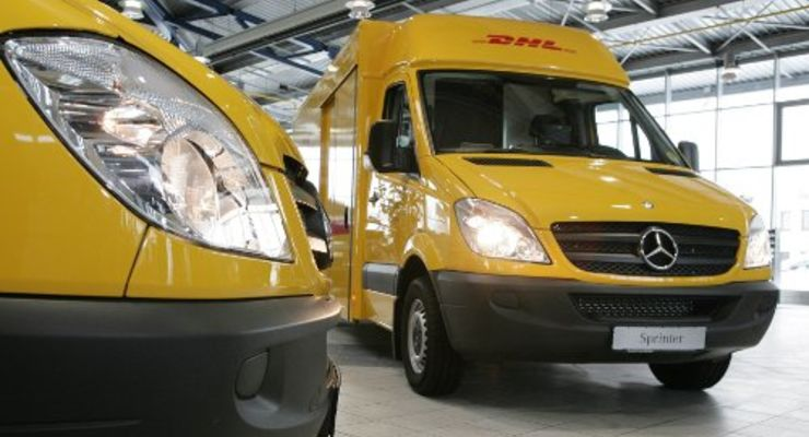 Mercedes liefert 1.300 Post-Sprinter