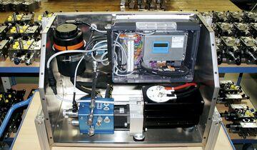 Mobil Elektronik Hinterachslenkung Achslenkung elektro-hydraulisch