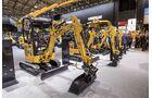 Neben starken Maschinen sind auch möglichst kompakte Bagger gefragt. Sie sind auch für E-Antriebe prädestiniert.