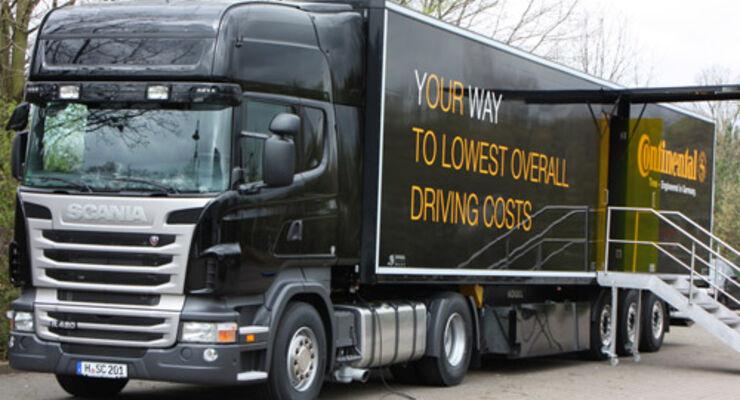 Neuauflage der Truck Tour durch 18 EU-Länder