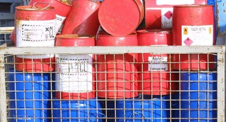 Neue Regeln für Chemikalientransporte
