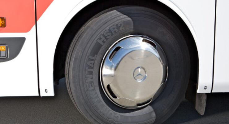 Neuer Bus-Reifen für gemischten Einsatz
