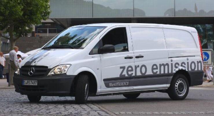 Neuer Elektro-Vito von Mercedes