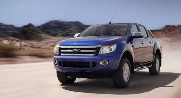 Neuer Ford Ranger