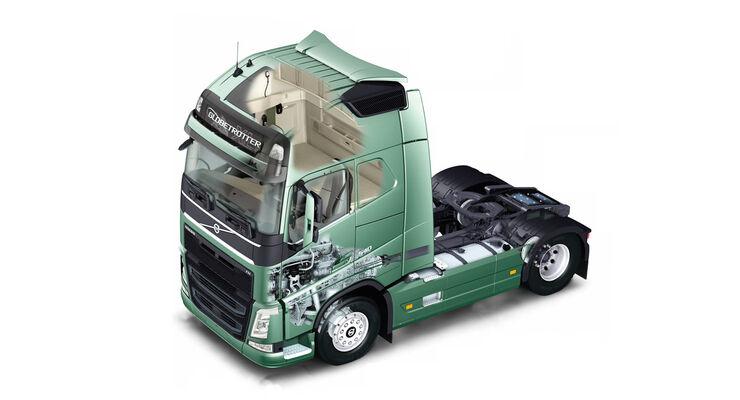 Neuer Volvo FH – Technik, Globetrotter