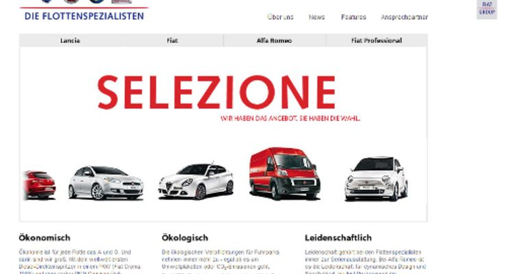 Neues Portal für Fiats Flottengeschäft
