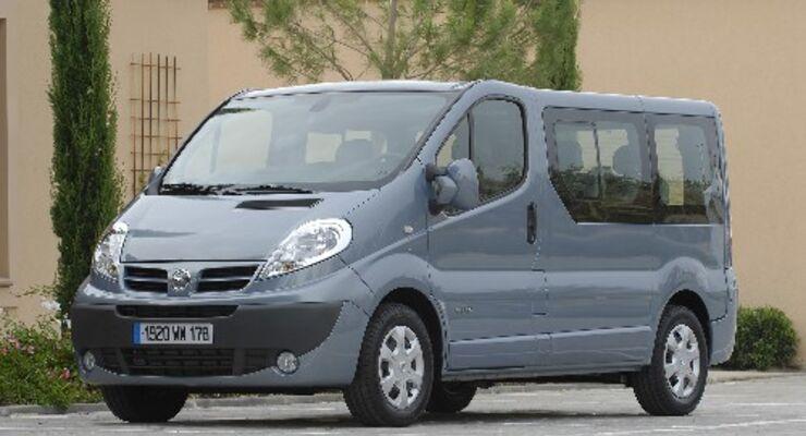Nissan überarbeitet den Primastar