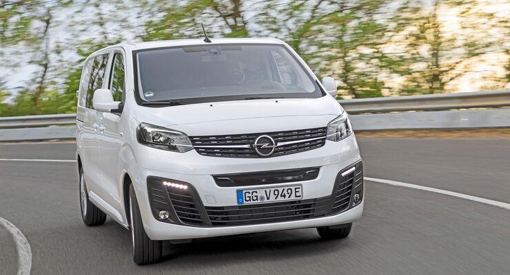 Opel Vivaro-e Crew Cab