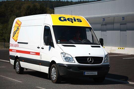Paketzustellung bei der Geis-Gruppe