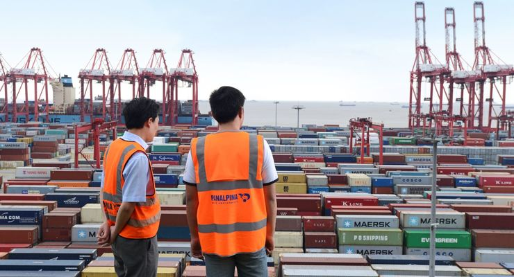 Panalpina, Container, Hafen, Asien