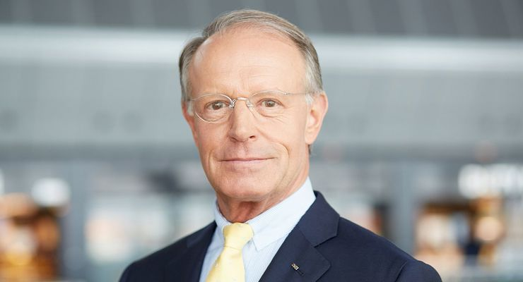 Panalpinas Verwaltungsratschef Thomas Kern