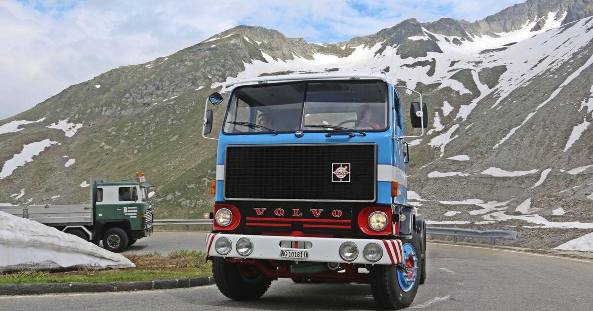 alpenp ssefahrt in der schweiz mit oldtimern ber die berge eurotransport. Black Bedroom Furniture Sets. Home Design Ideas