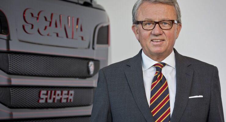 Peter Hornig, Scania