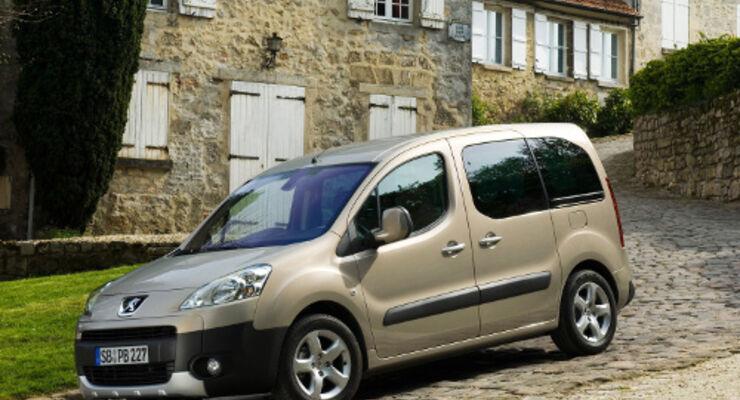 Peugeot Partner Tepee als Siebensitzer