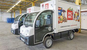 Picnic, Online-Lieferdienst, Lebensmittel, E-Fahrzeug